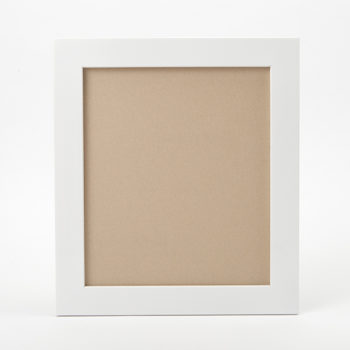 小色紙の額縁(ホワイト)