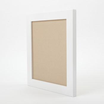 小色紙の額縁(ホワイト)斜め